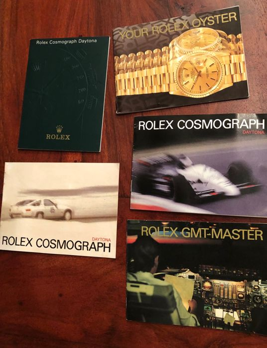 Rolex - 5x booklet 80's and 90's and 1x 2000 - see description  - Unisex - 80, 90, 2003