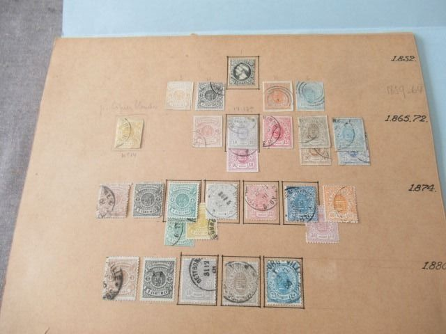 Luxemburg - Collection de timbres