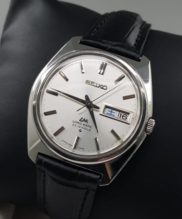 Seiko - 'NO RESERVE PRICE' Lord Matic Automatic Vintage 1969 Men - 5606-7000 - Heren - 1960-1969