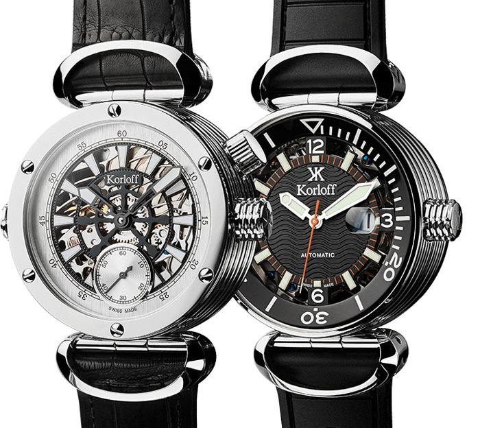 Korloff - Reversible Automatic Watch Houdini Diver - DIVERM/A - Homme - BRAND NEW