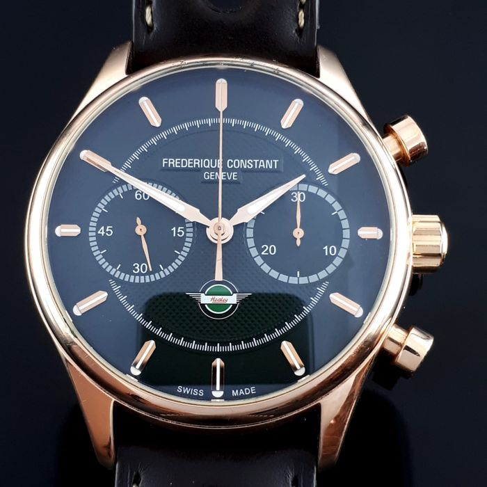 Frédérique Constant -  Vintage Rallye Healey Chronograph Limited Edition - FC-397HDG5B4 - Homme - 2015