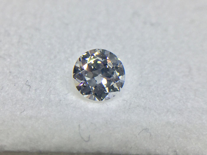 1 pcs Diamond - 0.39 ct - Brilliant, Round - E - VVS1