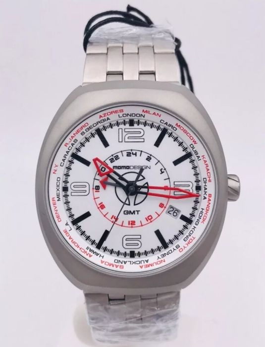 MomoDesign - Mangusta - Dual time - MD7001SS—20 - Men - 2011-present