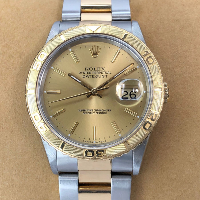 Rolex - Datejust Turn-O-Graph  - 16263 - Unisex - 1990-1999