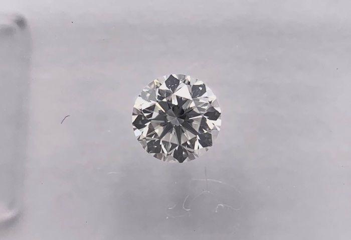 1 pcs Diamante - 0.30 ct - Brilhante, Redondo - I - VS2