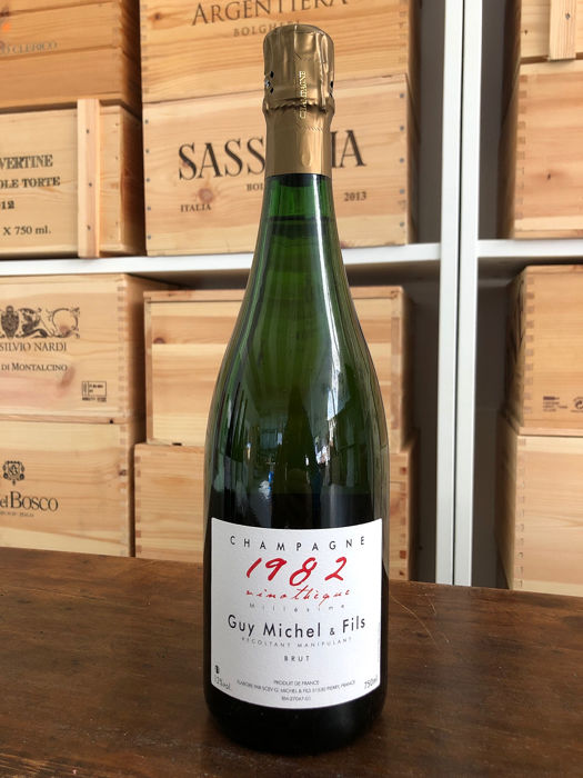 "1982 Guy Michel ""Vinothèque Millesimée"" - Champagne Grand Cru - 1 Bottle (0.75L)"