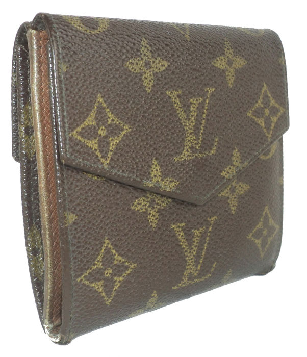 b67b8d67f8f6 Louis Vuitton - Monogram Elise Compact Wallet     No Reserve Price ...