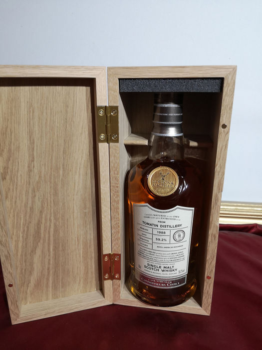 Tomatin 1988 30 years old Connoisseurs Choice - Gordon & McPhail - b. 2018 - 0,7 Liter