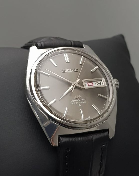 Seiko - 'NO RESERVE PRICE' Lord Matic Automatic SLIM Vintage 1969 Men - 5606-7000 - Heren - 1960-1969