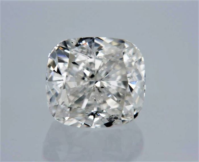 1 pcs Diamant - 1.02 ct - Cushion - I - SI2