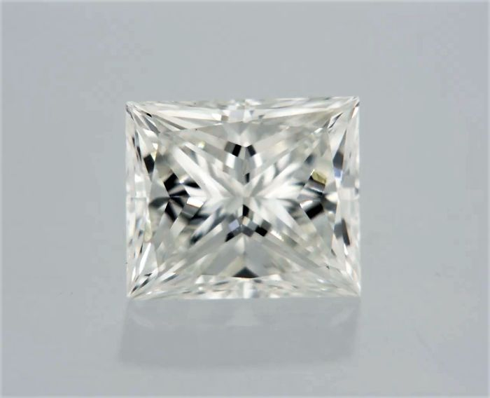 1 pcs Diamant - 0.54 ct - Princesse - I - VS1