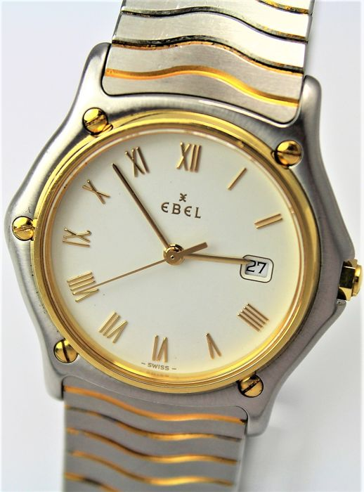 "Ebel - Swiss Made ""NO RESERVE PRICE"" - Bicolour Wave - Men - 2011-present"