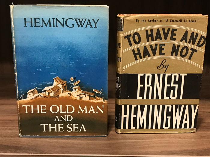 Ernest Hemingway - Old Man and The Sea + To Have and have not - 1937/1952