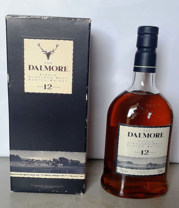 Dalmore 12 years old Landscape label  - 75cl