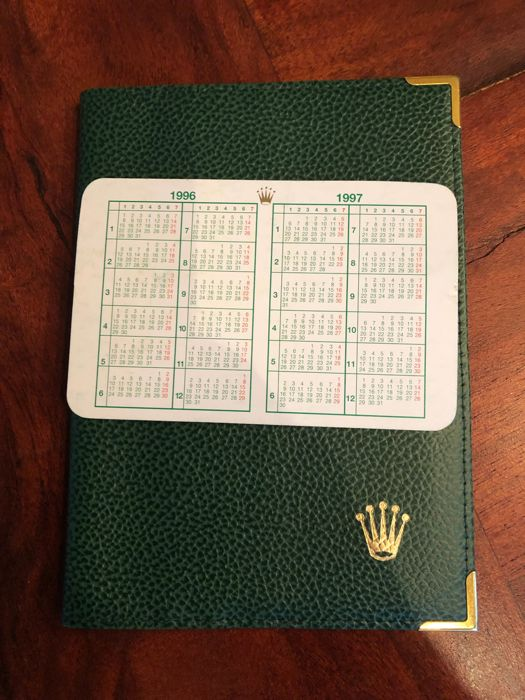 Rolex - 2x vintage item 1996-1997 - passport and calendar 96-97 - Unisex - 1990-1999
