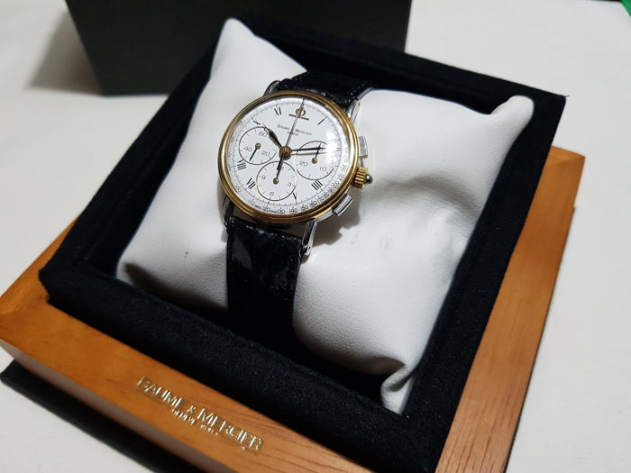 Baume & Mercier - cronografo 1830 - 6101-099 - Men - 1990-1999