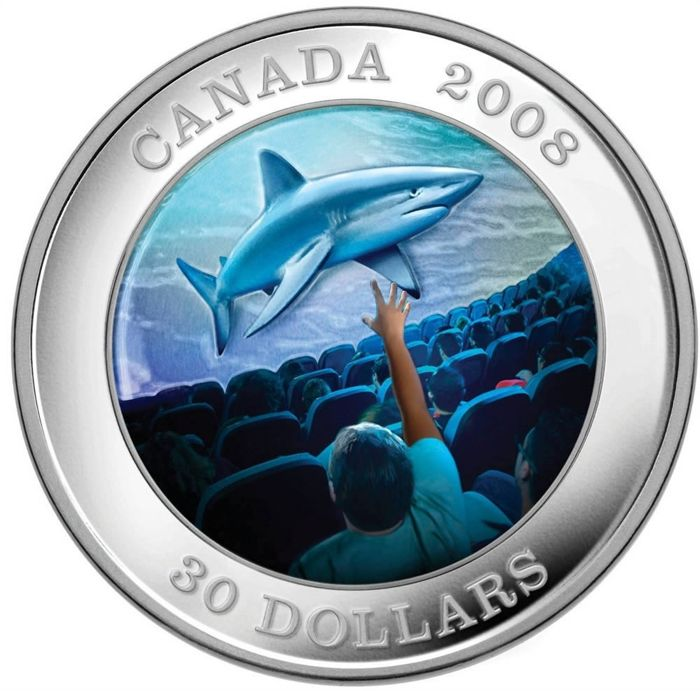 Canada - 30 Dollar  Canadian Achievements Series: IMAX - 1 Oz - Zilver