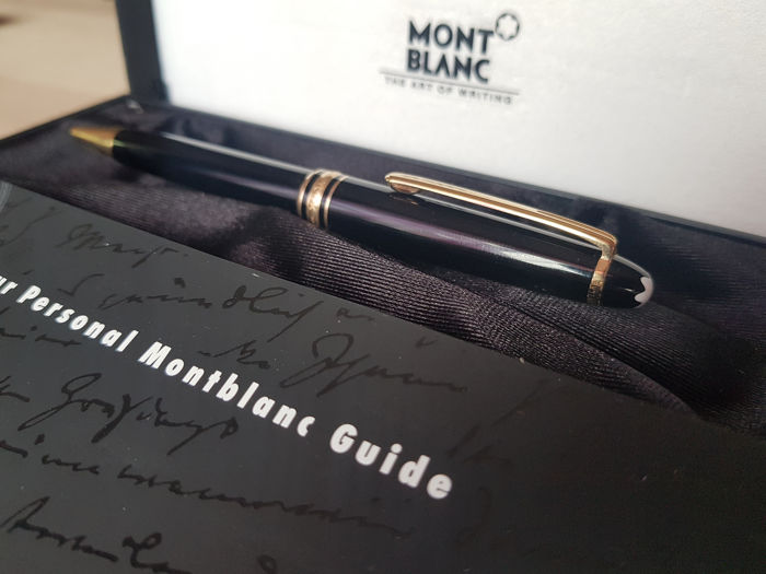 Montblanc - Meisterstück 164 - Ballpoint - 1990's - Box and papers