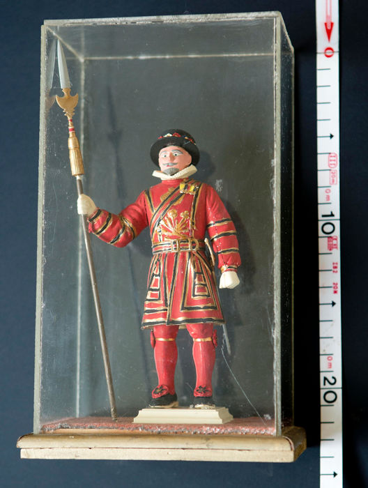 Sin marca visible - Figure of soldier Beefeater - 1960-1969
