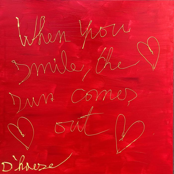 Hannes D'Haese - When you smile the sun comes out