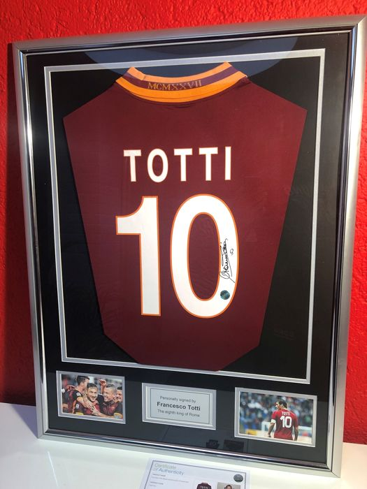 AS Roma - Liga de fútbol Italiana - Francesco Totti - Camiseta(s)