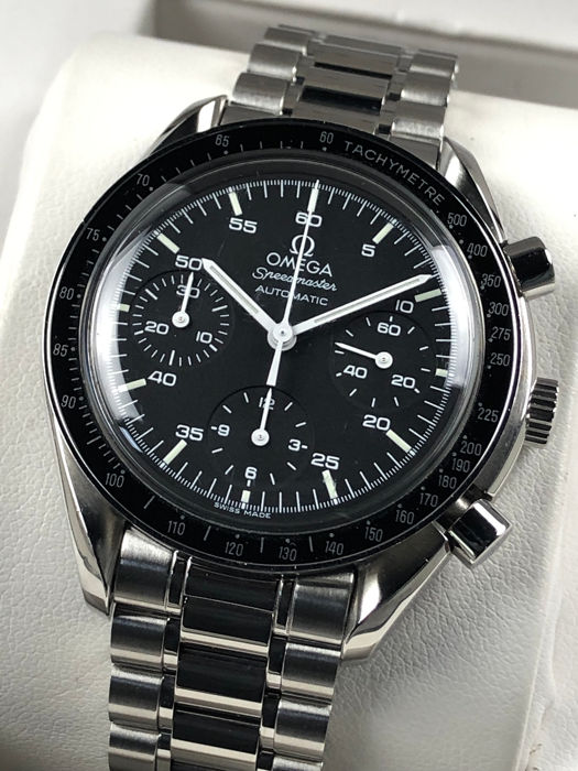 Omega - Speedmaster Reduced Chronograph Automatic - 3510.5000 - Heren - 2000-2010