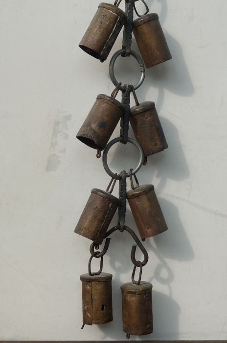 Wind chimes - Iron (wrought) - Early 20th century