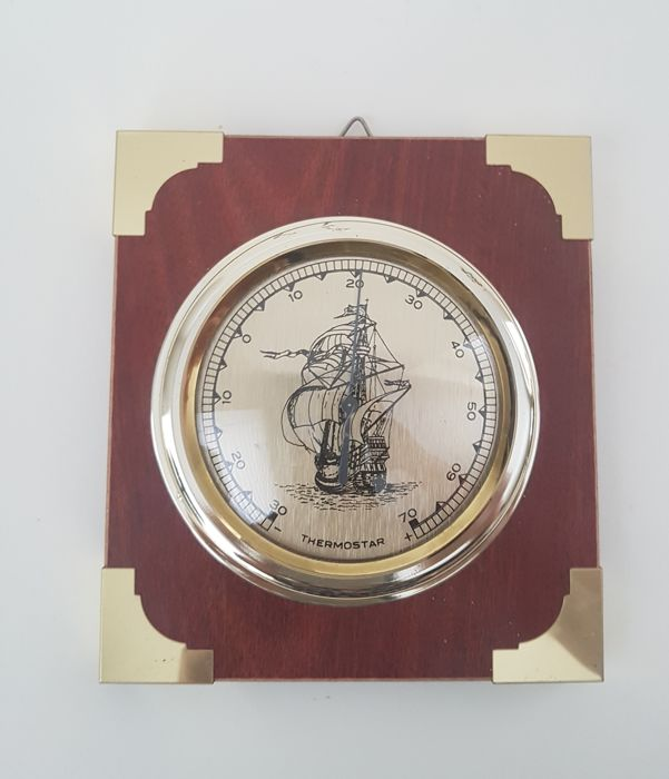 Thermostar - Ship's thermometer - Brass / yellow copper