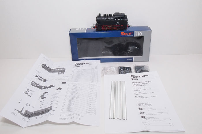 Roco H0 - 63289 - Tender locomotive - BR 80 - DR (DDR)