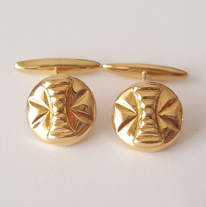 18 kt. Yellow gold - Cufflinks
