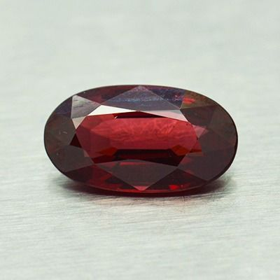 Red, * No Reserve Price * Garnet - 3.13 ct