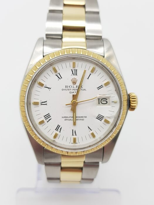 Rolex , Oyster Perpetual Date , 15053 NO RESERVE PRICE , Men , 1980,1989 ,  Catawiki