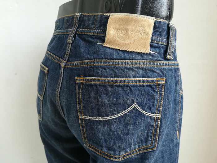 Jacob Cohen - Jeans, JC620, Silver plated, 2ND Premium Edition, Trousers - Size: 34