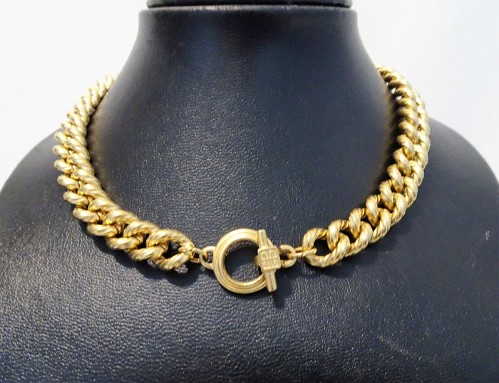 Givenchy - Gold Twisted Link  Ketting