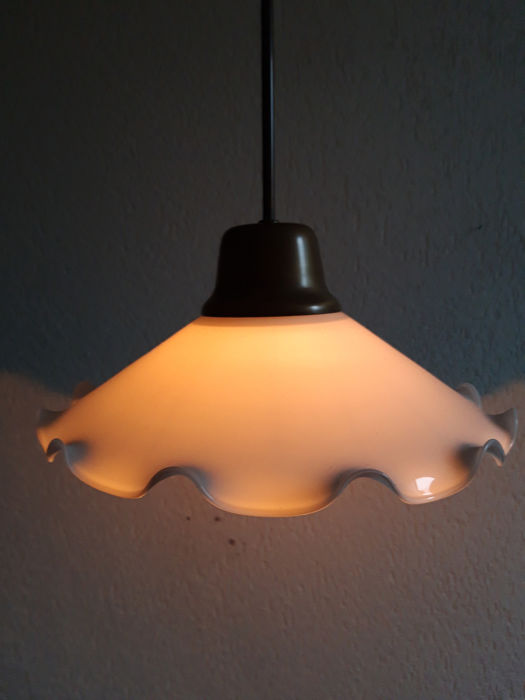 Beautiful ceiling lamp (1) - Copper, Glass