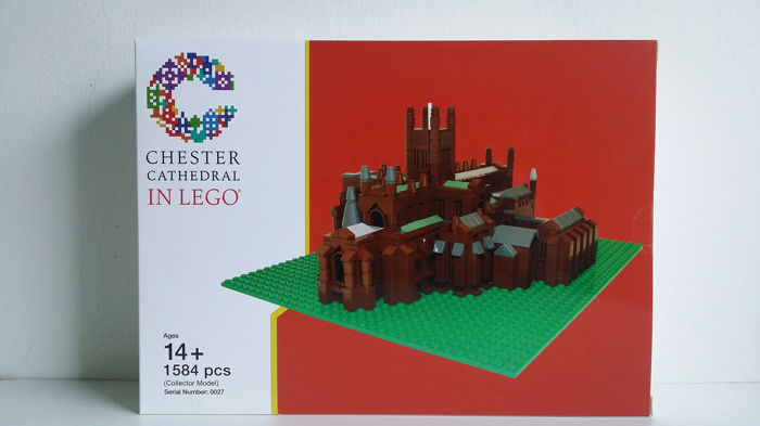 LEGO - Certified Professional - Building Chester Cathedral by Bright Bricks