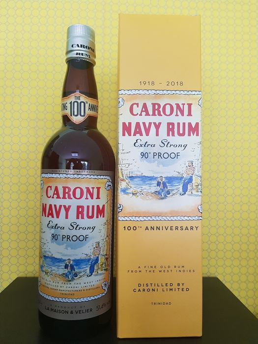 Caroni 2000 18 years old Velier - Navy Rum 90° Proof - b. 2018 - 70cl