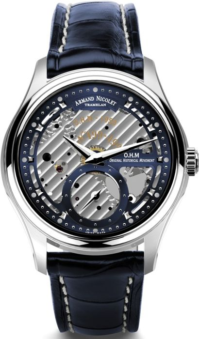 Armand Nicolet - L14 Small Second -Limited Edition- - A750AAA-BU-P713BU2 - offizieller Händler - Herren - 2011-heute