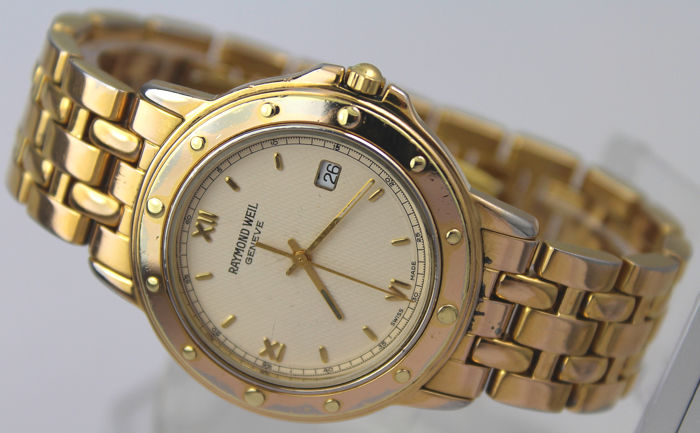 """Raymond Weil - Tango 18kt Gold Plated """"NO RESERVE PRICE"""" - Men - 2000-2010"""