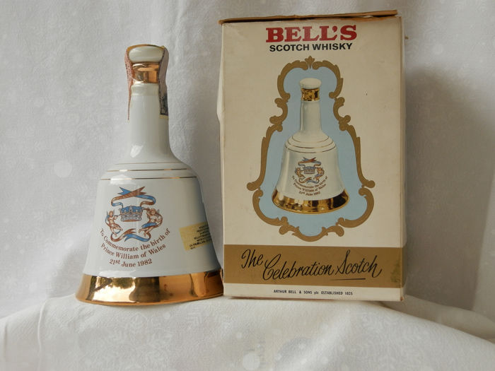 Bell's bird of Prince William of Wales 1982 - 50cl