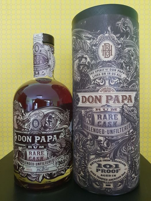 Don Papa - Rare Cask 101 Proof - first batch - 70cl
