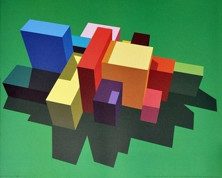 Julian Opie - Imagine you can order these (?) - 1992
