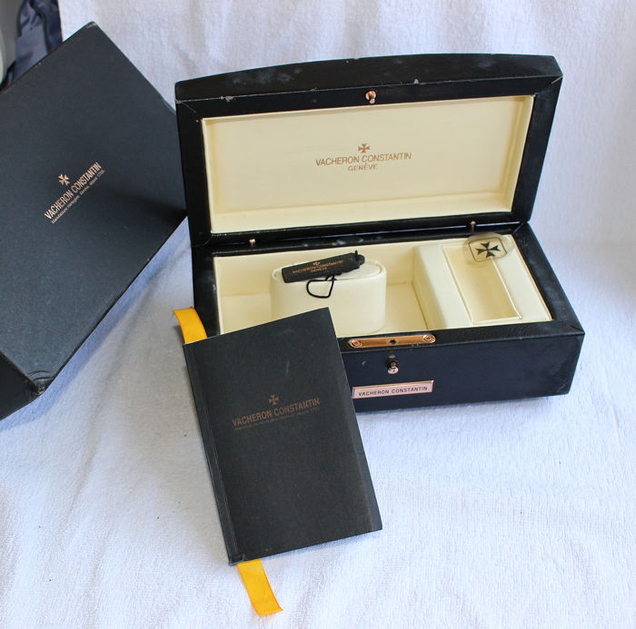 Vacheron Constantin - Watch Box Black Leather Overseas- Men - 2000-2010 Watches Premium, used for sale