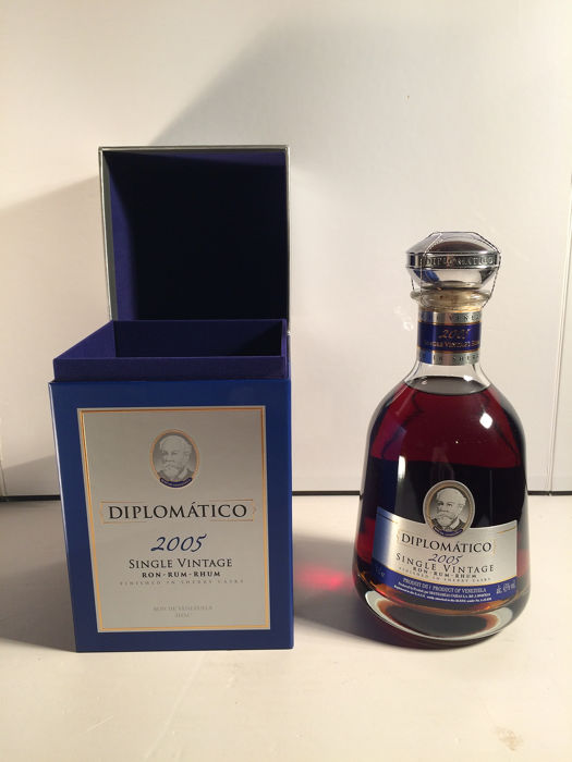 Diplomatico 2005 - Single vintage, Limited Edition - 70cl