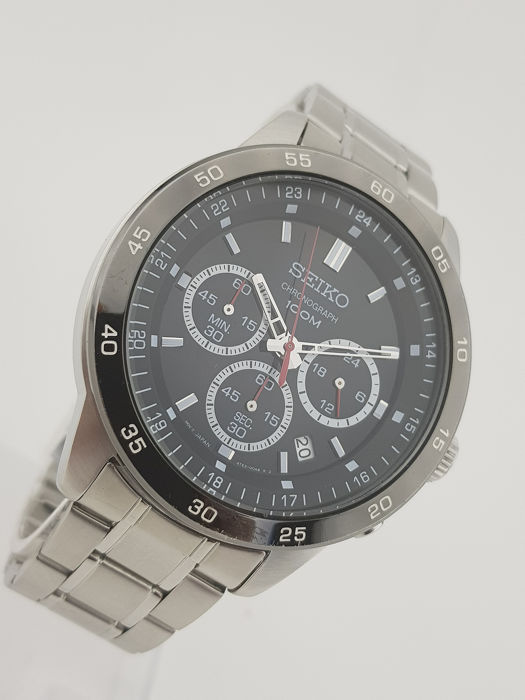 Seiko - Chronograph XXL With Box - Heren - 2011-heden