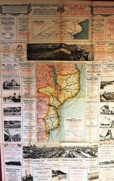 Map Of Africa 1950.Africa East Africa N N Map Of Potuguese East Africa 1921 1950