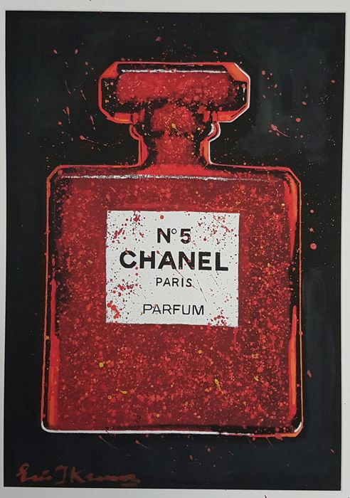 Eric Jan Kremer - Chanel Limited Edition Red