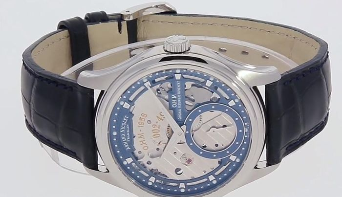 Armand Nicolet - L14 Small Second -Limited Edition- - A750AAA-BU-P713BU2 - offizieller Händler - Homem - 2011-presente
