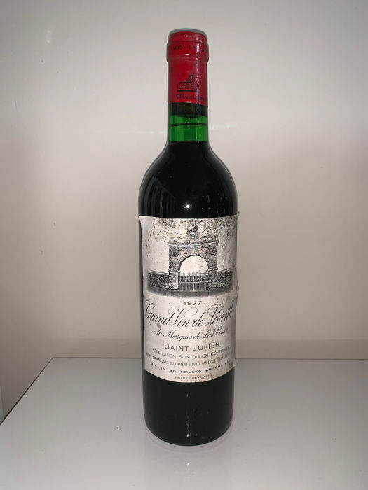 1977 Chateau Leoville las Cases - Saint-Julien 2éme Grand Cru Classé - 1 Bottle (0.75L)
