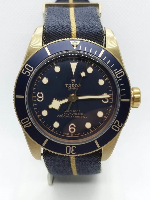 Tudor - black bay  bucherer  - 79250bb - Heren - 2019